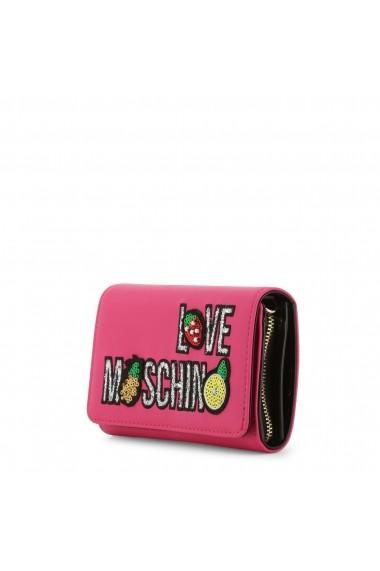 Portofel Love Moschino JC5654PP07KL_0604 Roz