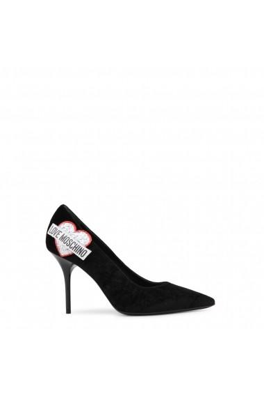 Pantofi cu toc Love Moschino JA10039C16IFX_000 - els Negru