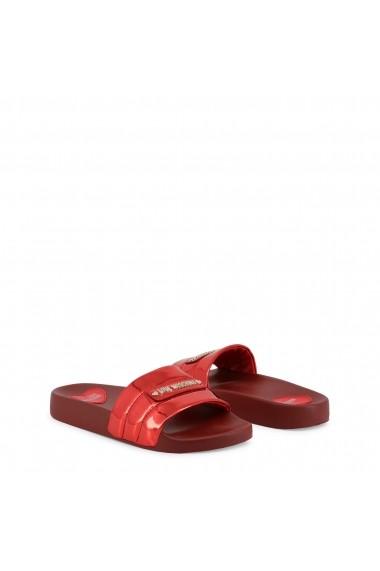 Papuci Love Moschino JA28012G17IQ_0500 Rosu