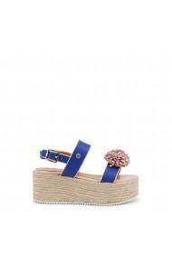 Sandale cu toc Love Moschino JA16107I15ID 170A albastru