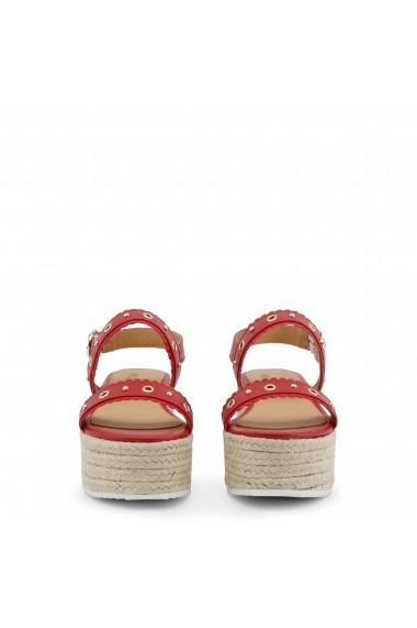 Sandale plate Love Moschino JA16067I15IA 450A rosu