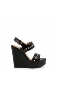 Sandale cu platforma Love Moschino JA1604CE15IA 400A negru