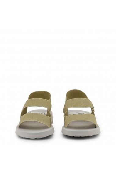 Sandale plate Love Moschino JA16293G07JT 0901 Galben