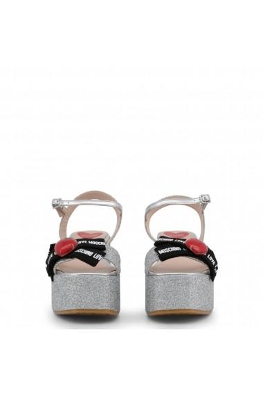 Sandale cu platforma Love Moschino JA16188I07JH 290B Gri