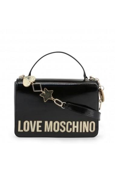 Geanta JC4036PP18LD_0000 Love Moschino Negru