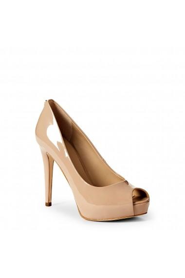 Pantofi cu toc Guess FLHA14PAF07_LIGHTNATURAL Bej