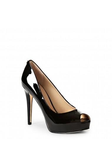Pantofi cu toc Guess FLHA14PAF07_BLACK Negru