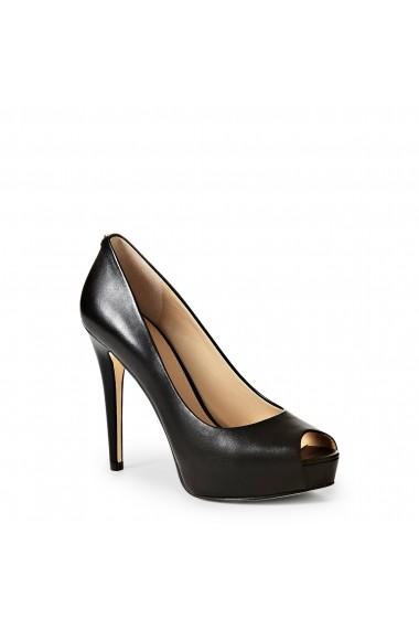 Pantofi cu toc Guess FLH124LEA07_BLACK Negru