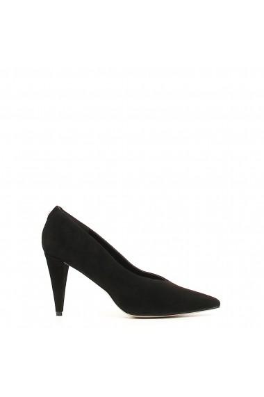 Pantofi cu toc Guess FLBOI4SUE08_BLACK Negru