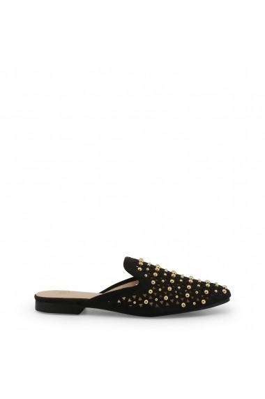 Pantofi sport Laura Biagiotti 5370_NABUK_BLACK Negru