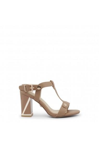 Sandale cu toc Laura Biagiotti 667_CALF_SAND bej