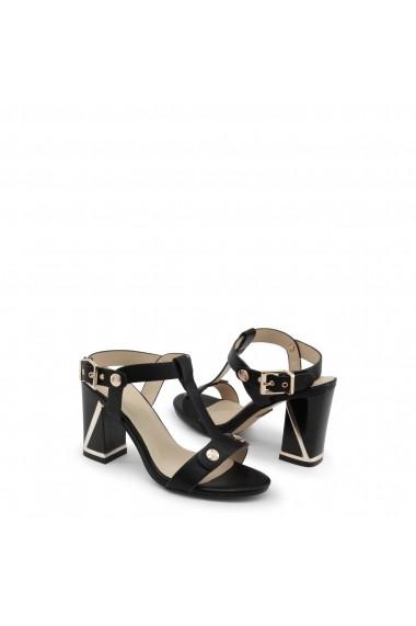 Sandale cu toc Laura Biagiotti 667_CALF_BLACK negru