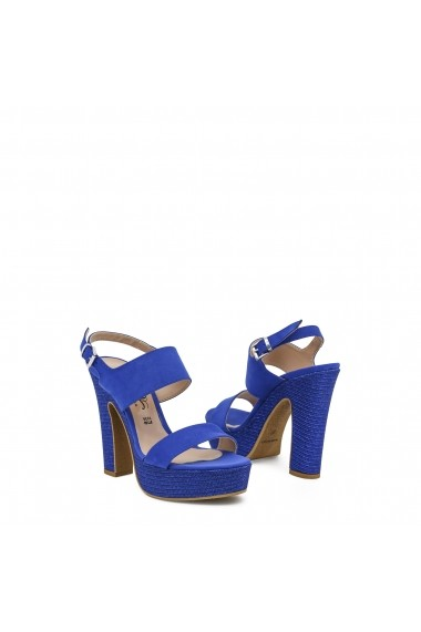 Sandale cu toc Paris Hilton 2212P_BLUETTE albastru