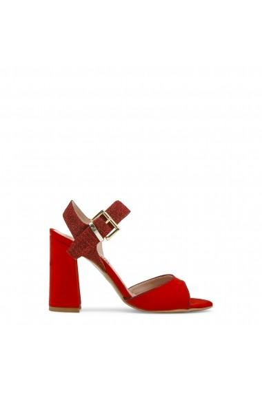 Sandale cu toc Paris Hilton 90_ROSSO rosu