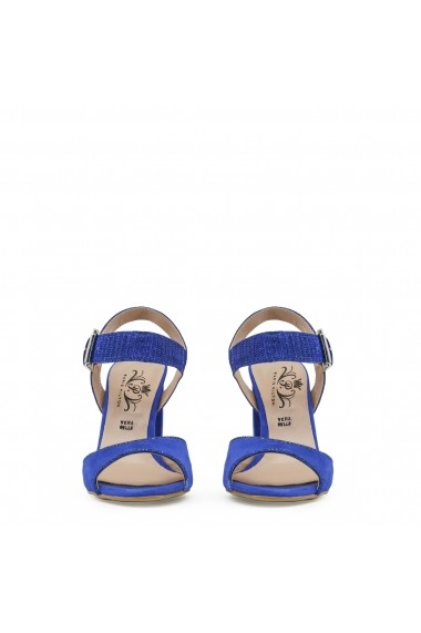 Sandale cu toc Paris Hilton 90_BLUETTE albastru