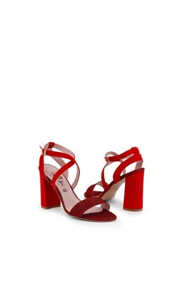 Sandale cu toc Paris Hilton 89_ROSSO Rosu