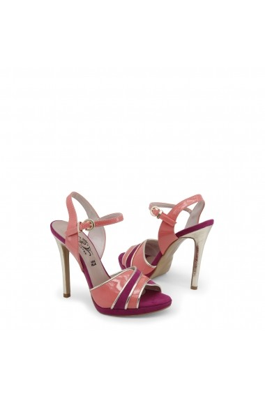 Sandale cu toc Paris Hilton 8605_PESCA-VIOLA-PLATINO