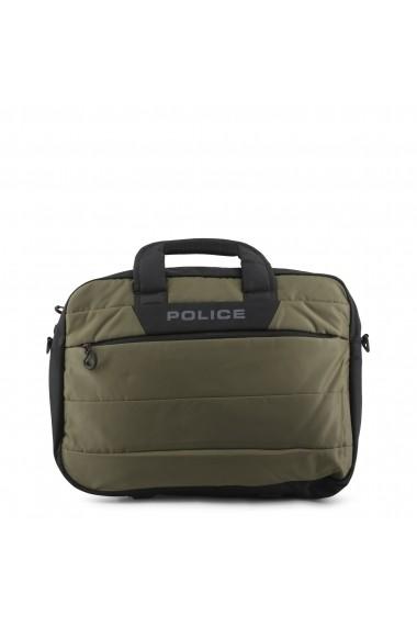Servieta Police PTO020010_1-2_HEDGE_ARMYGREEN Verde