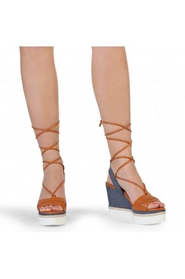 Sandale cu toc Blu Byblos DAILY_682345_ARANCIO