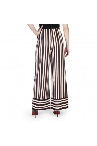 Pantaloni Miss Miss 39549_M574_Latte-Nero-Orzo negru