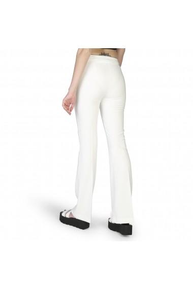 Pantaloni largi Rinascimento 85530 003 B021BIANCO Alb
