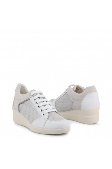 Pantofi sport GEOX STARDUST_D8230B_085LY_C0007-WHITE Alb