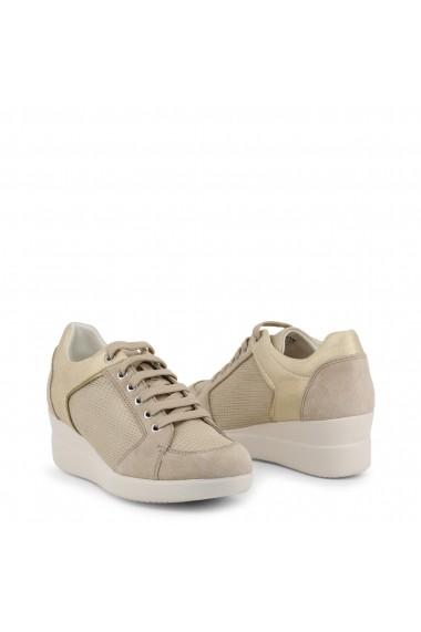 Pantofi sport GEOX STARDUST_D8230B_022LY_CH6B5-TAUPE Maro
