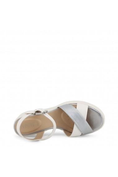 Sandale cu platforma GEOX TORRENCE D92CPB 0BCBN C0007-WHITE Alb