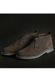 Pantofi Marco Nils 233_CAMOSCIO_GRIGIO