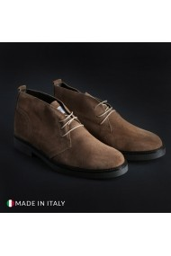 Pantofi Marco Nils 233_CAMOSCIO_TORTORA