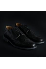Pantofi SB 3012 208_CRUST_NERO