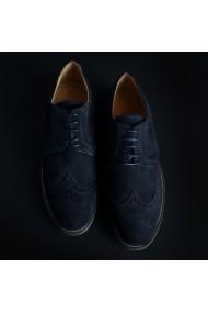Pantofi SB 3012 208_CAMOSCIO_BLU