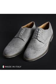 Pantofi SB 3012 208_CAMOSCIO_GRIGIO