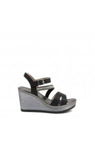 Sandale cu toc Inblu IK000009_014_NERO