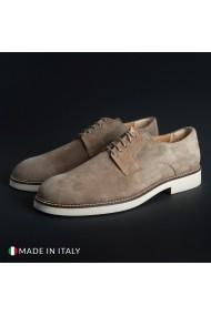 Pantofi Madrid 604_CAMOSCIO_TAUPE