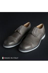 Pantofi Madrid 607_PELLE_GRIGIO