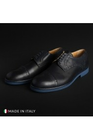 Pantofi Madrid 607_PELLE_BLU