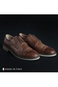 Pantofi Madrid 605_PELLE_MARRONE
