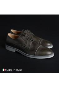Pantofi Madrid 605_PELLE_GRIGIO