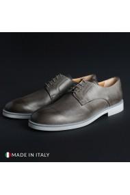 Pantofi Madrid 604_PELLE_GRIGIO