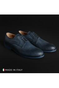 Pantofi Madrid 604_PELLE_BLU