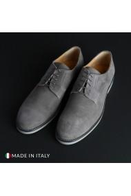 Pantofi Madrid 604_CAMOSCIO_GRIGIO