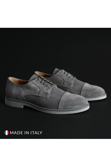 Pantofi Madrid 605 CAMOSCIO GRIGIO
