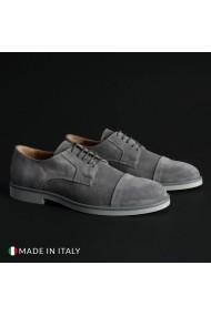 Pantofi Madrid 605_CAMOSCIO_GRIGIO