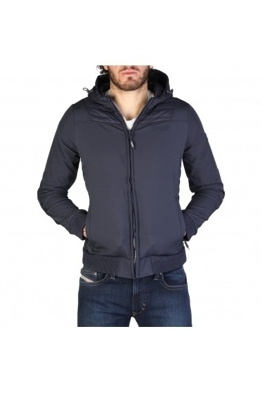 Jacheta Geographical Norway Chaleur_man_navy Bleumarin