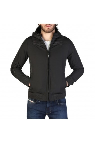 Jacheta Geographical Norway Chaleur_man_black Negru