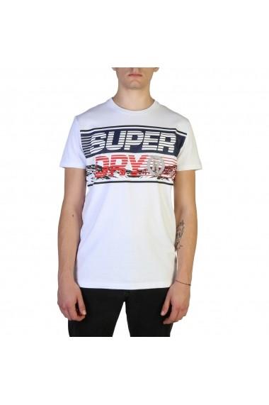 Tricou Superdry M1000005A_01C Alb