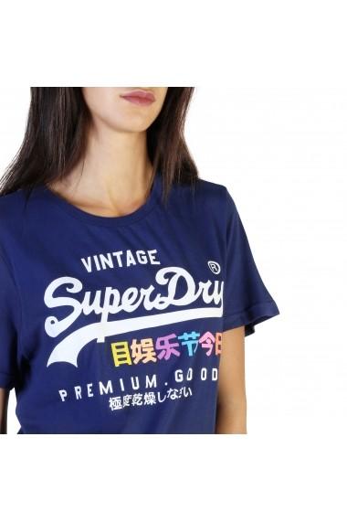 Tricou Superdry G10306AU_JZD Albastru
