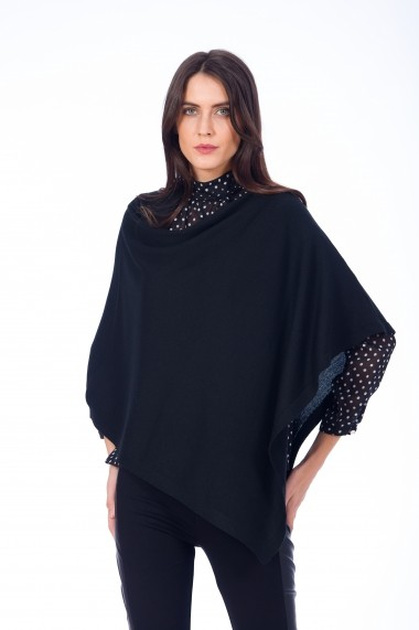 Poncho Be You 0653 negru