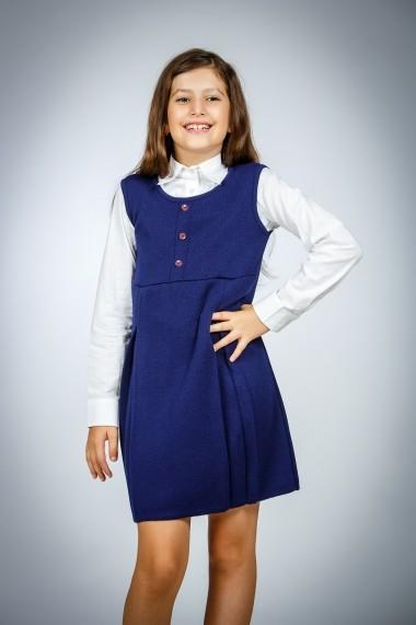 Sarafan tricotat Be You 307blm bleumarin
